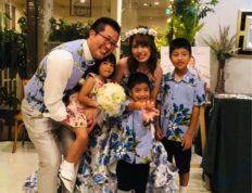 家族5人 ファミリー婚